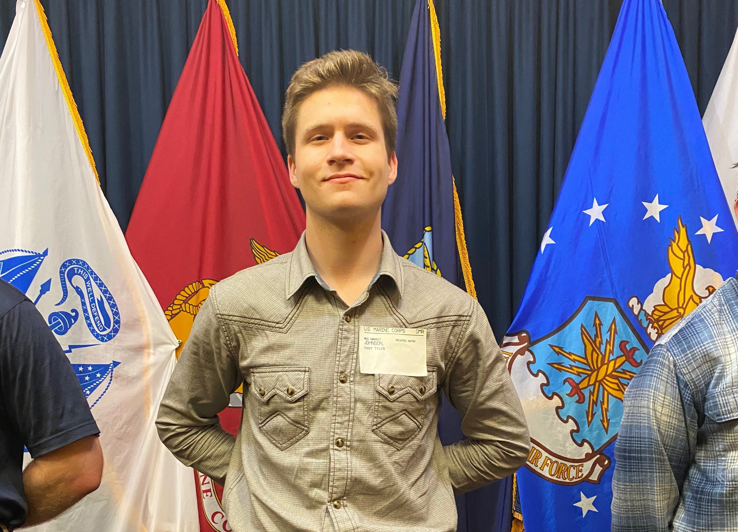 Video: Real County's Cody Tyler Johnson enlists in to United States Marine Corps