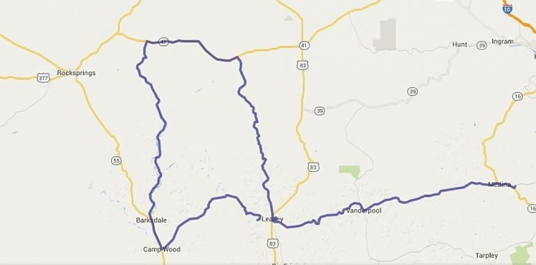 Twisted Sisters Motorcycle Ride Map