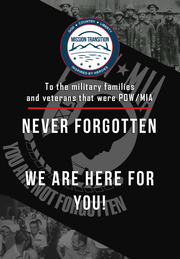 POW/MIA Recognition Day 2020
