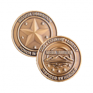 Mission Transition Challenge Coin