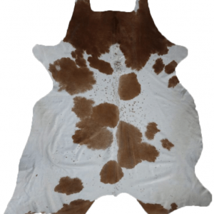 Natural Brazilian Cowhide 8'5″ x 8'7″