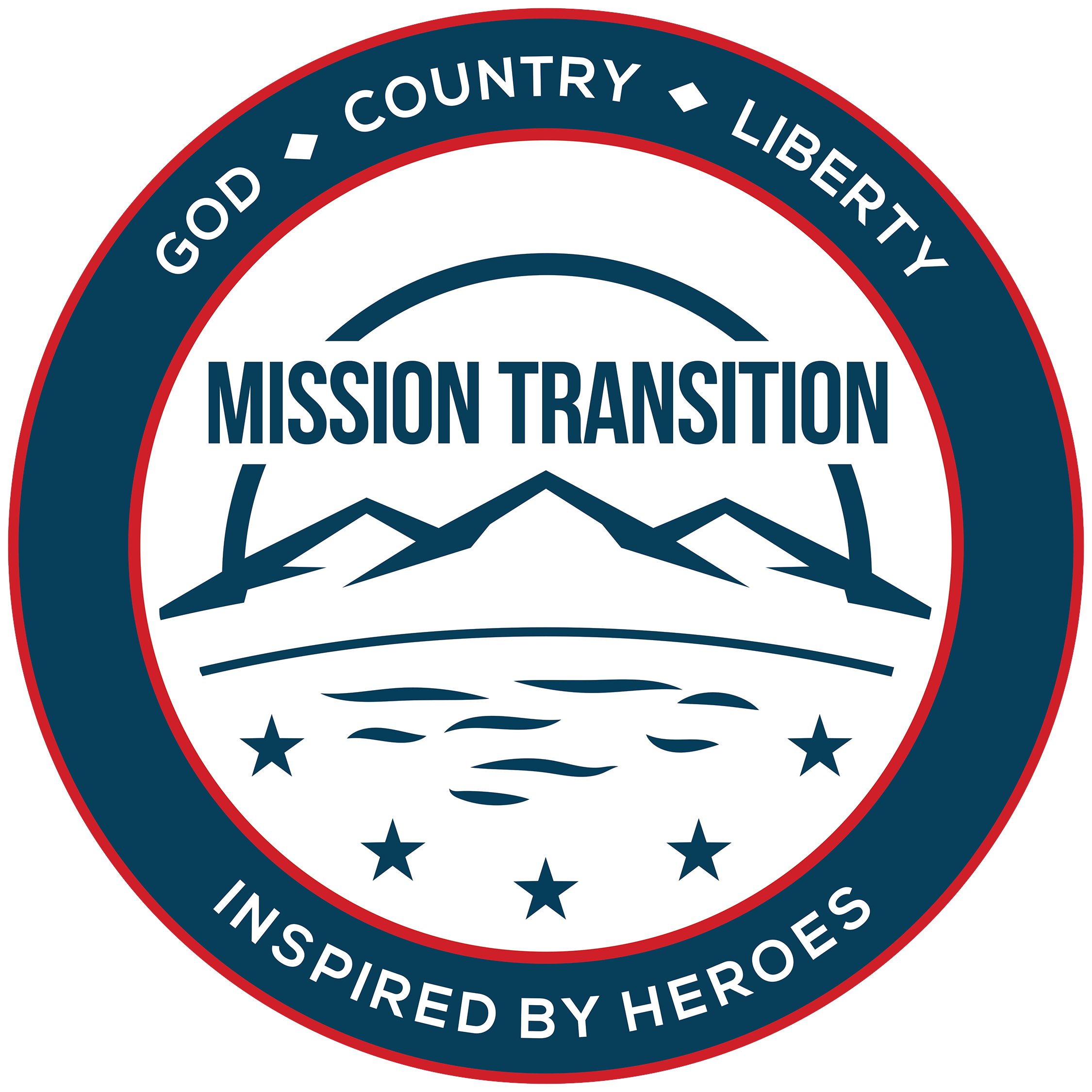 Mission Transition Vinyl Sticker
